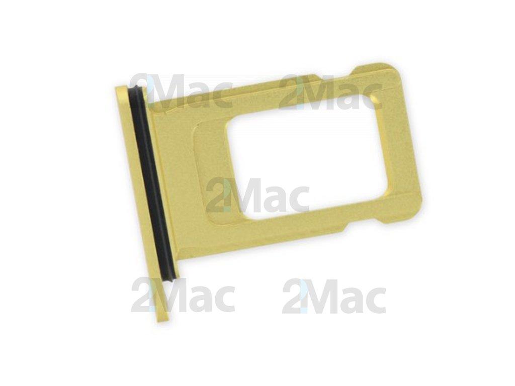šuplík na SIM kartu iPhone 11 - Yellow