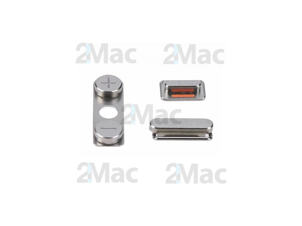 iPhone 4/4S Side Buttons Set Gray