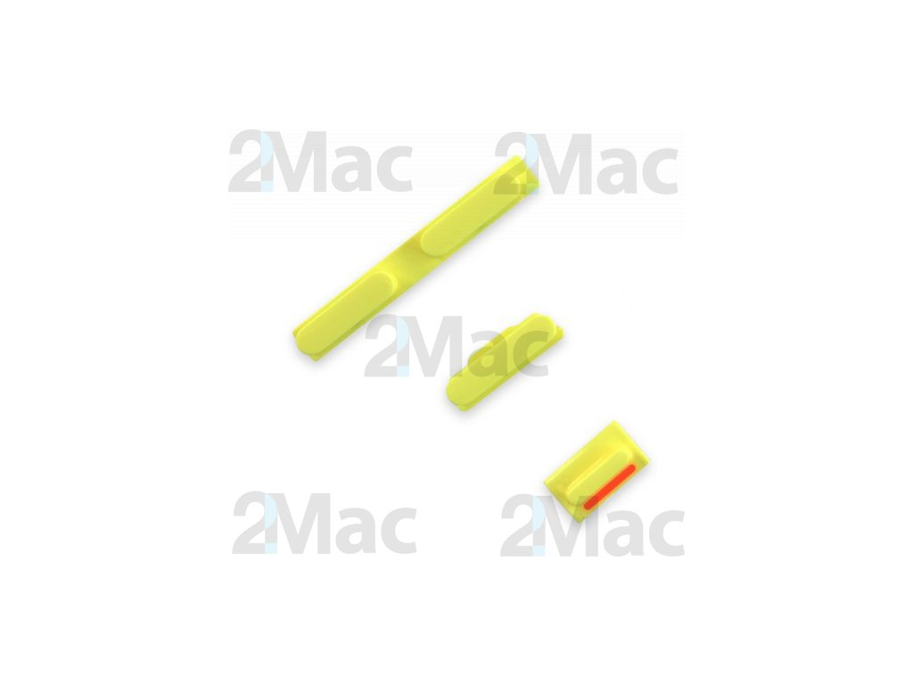 iPhone 5C Side Buttons Set Yellow