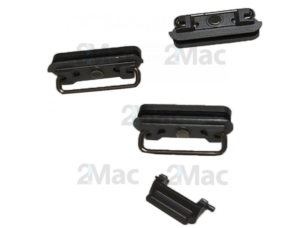 iPhone 6s Side Buttons Set Black