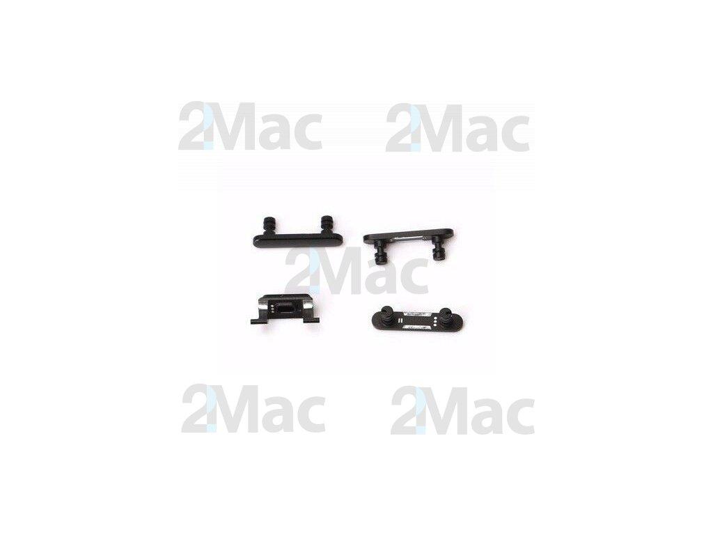 Boční kovová tlačítka pro Apple iPhone 7 Plus - Black