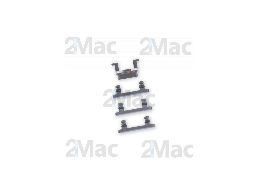 iPhone 8 Side Buttons Set Black