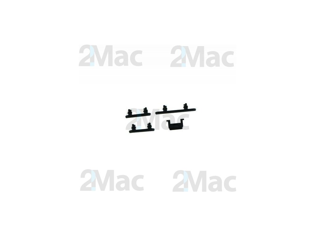 iPhone XR Side Buttons Set Black