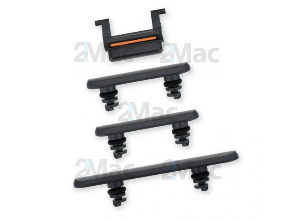 iPhone 11 Side Buttons Set Black