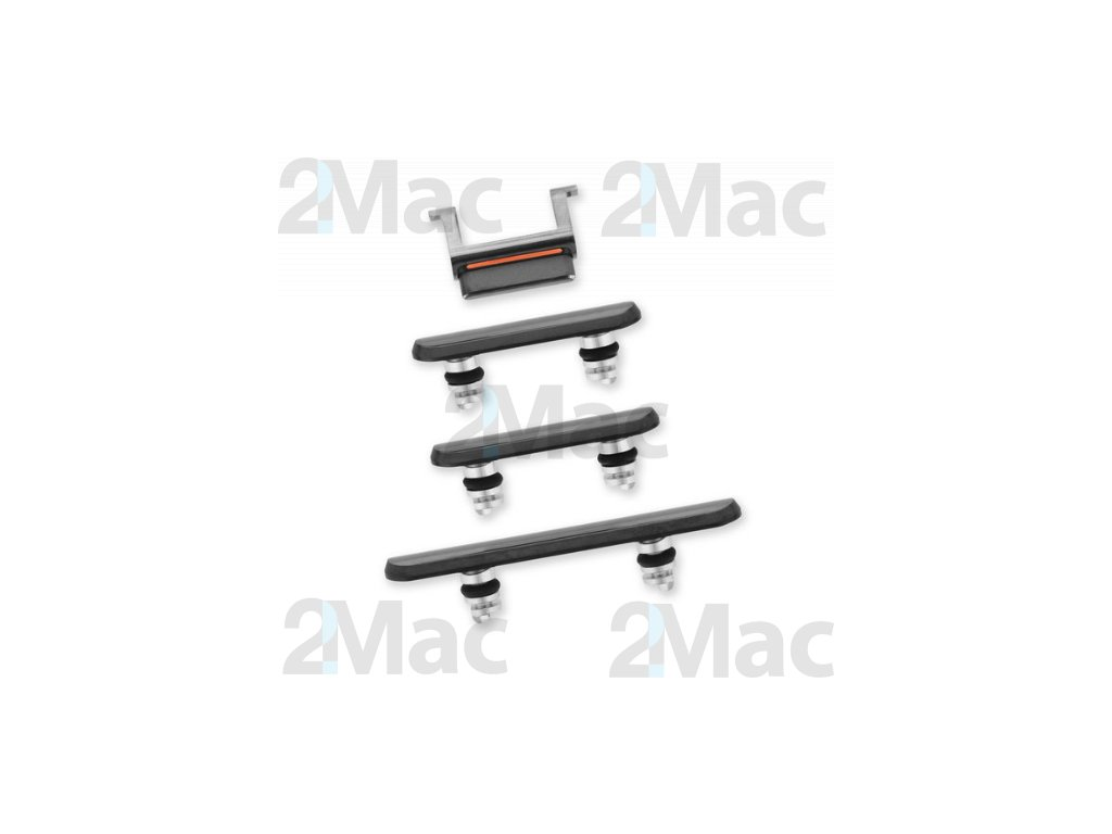 iPhone 11 Pro/11 Pro Max Side Buttons Set Space Gray