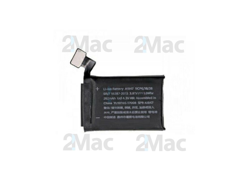 Baterie A1848 pro Apple Watch (38 mm Series 3 GPS) Replacement Battery