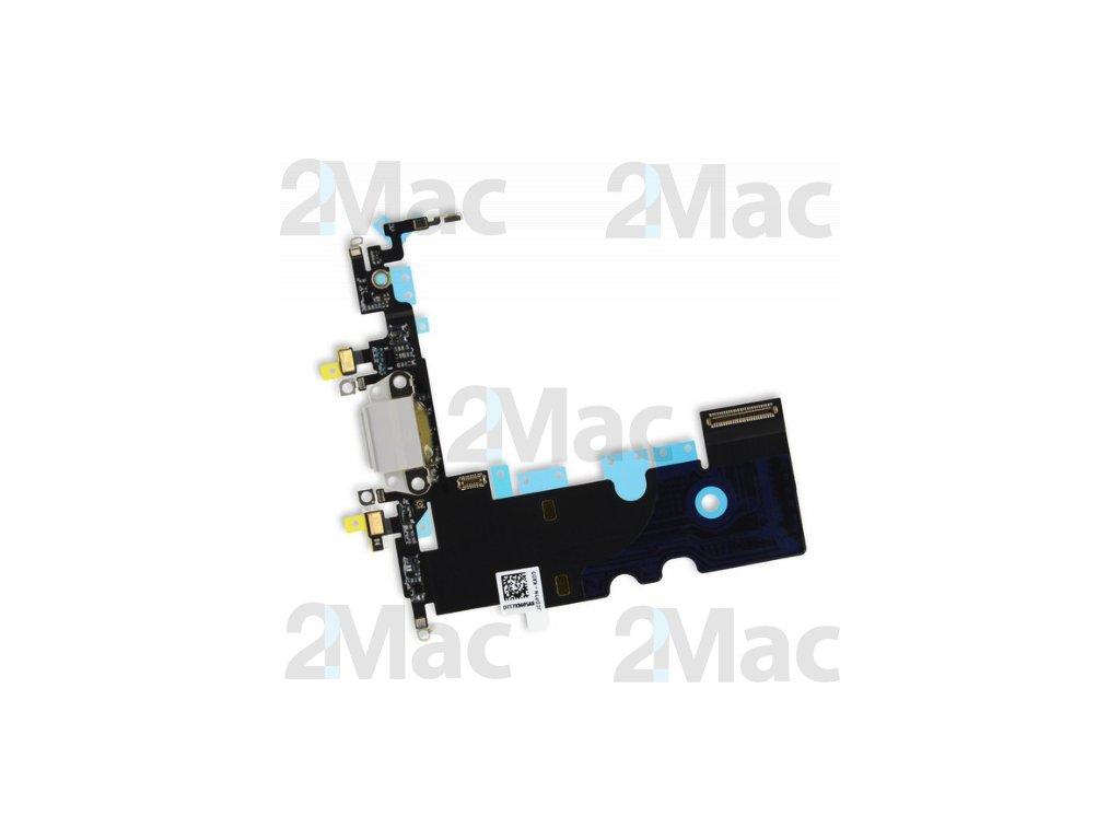 Napájecí datový konektor pro Apple iPhone 8 Silver