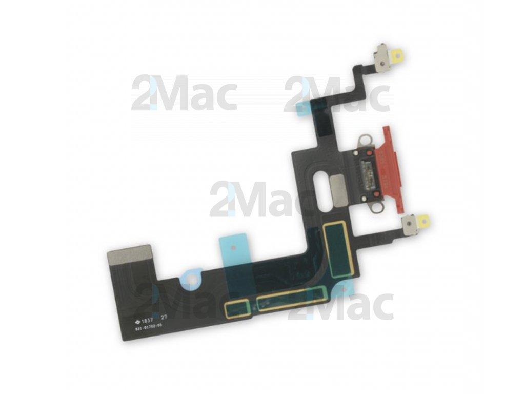 Napájecí datový konektor pro Apple iPhone XR - Červený