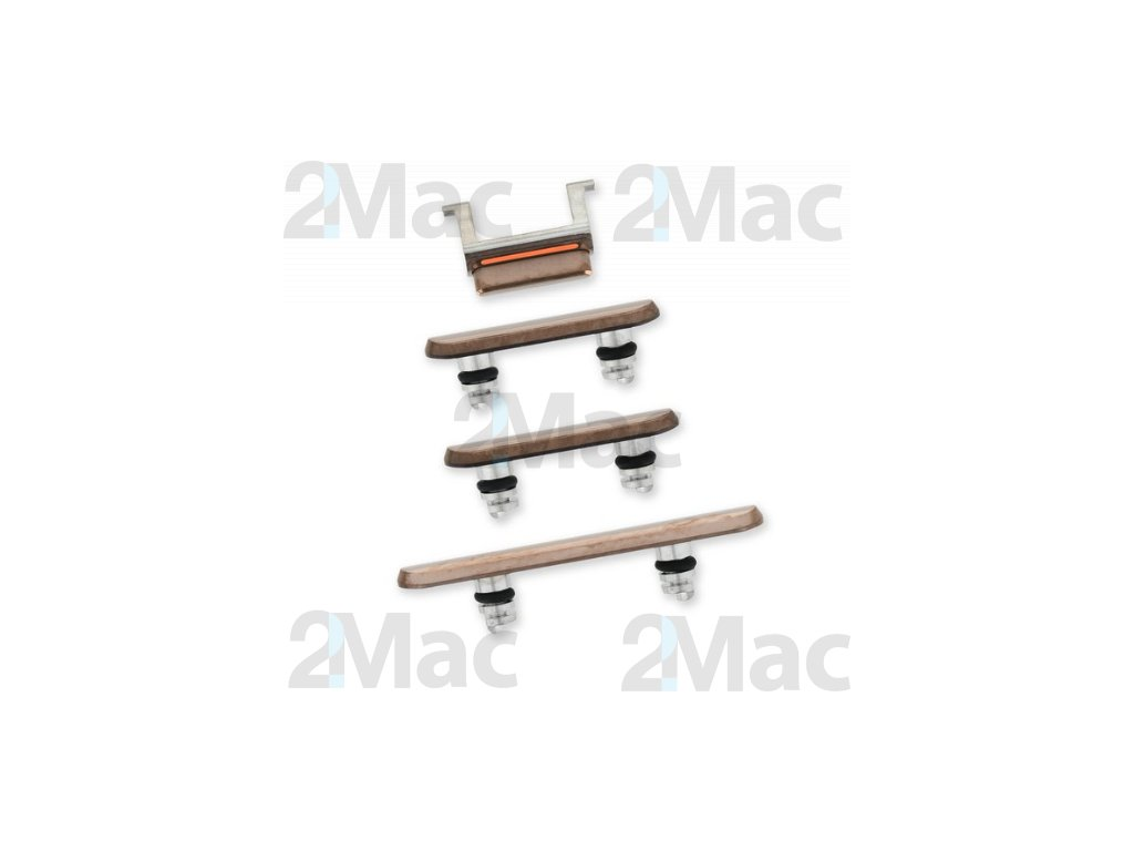 iPhone 11 Pro/11 Pro Max Side Buttons Set Gold