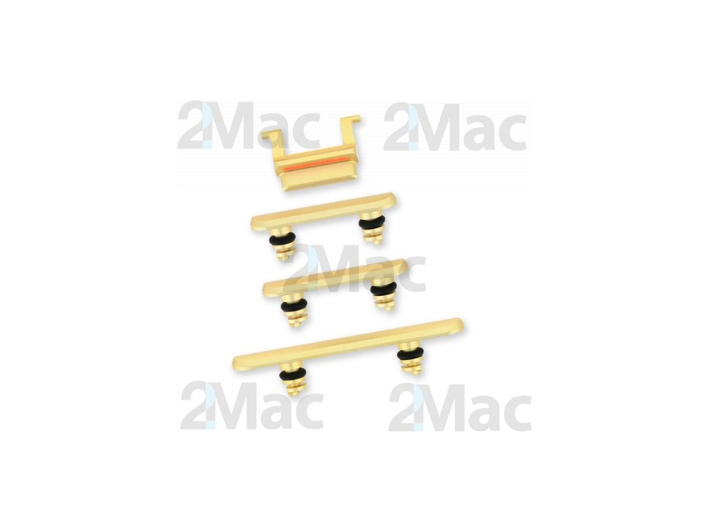 iPhone 11 Side Buttons Set Yellow