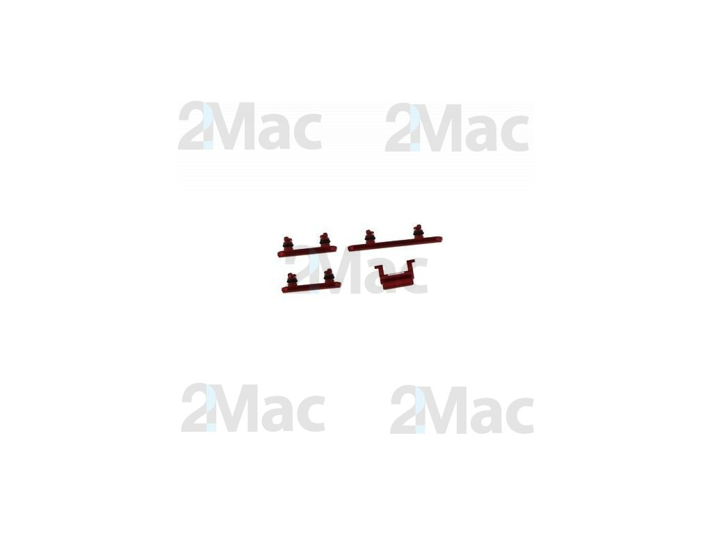 iPhone XR Side Buttons Set Red