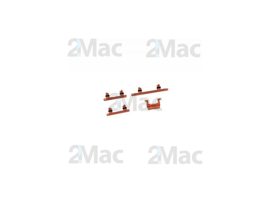 iPhone XR Side Buttons Set Coral