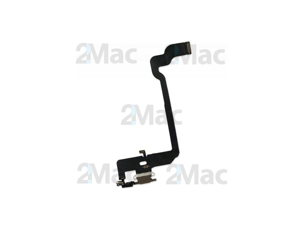 Napájecí datový konektor pro Apple iPhone XS Brown