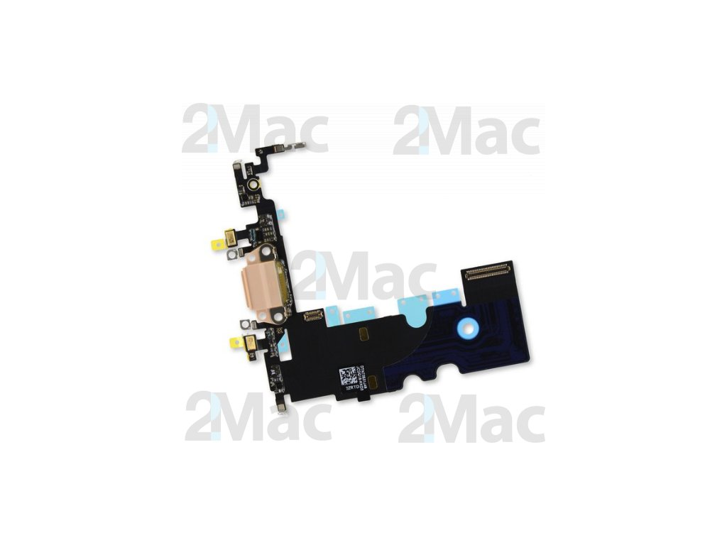 Napájecí datový konektor pro Apple iPhone 8 Gold