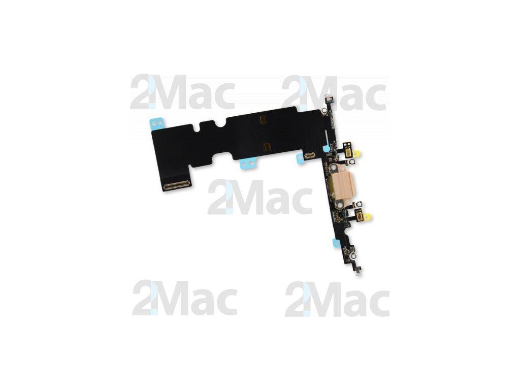 Napájecí datový konektor pro Apple iPhone 8 Plus Gold