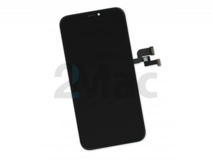 LCD displej pro Apple iPhone X Black - Original refurbished