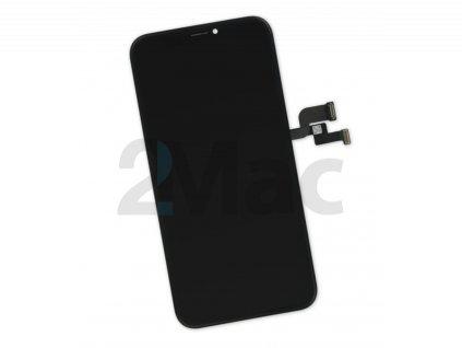 LCD displej pro Apple iPhone X Black - 2Mac Premium (GX- soft oled)
