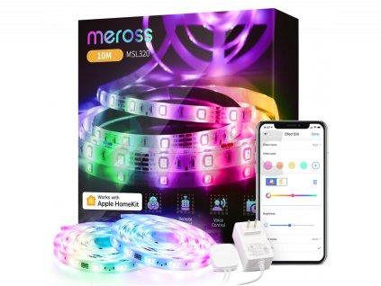 Meross Smart WiFi LED Strip Apple HK, 10 m