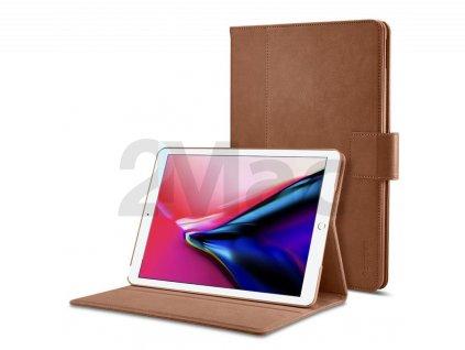 """Spigen Stand Folio case, brown - iPad 9.7"""""""