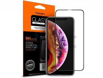 Spigen Glass FC HD, black - iPhone 11 Pro/XS/X