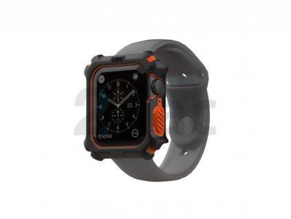 UAG Watch case, black/orange - AW 6/SE/5/4 44 mm