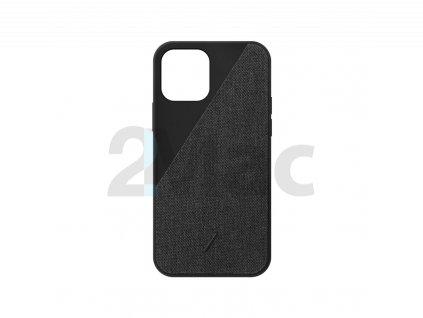 Native Union Clic Canvas, black - iPhone 12 mini
