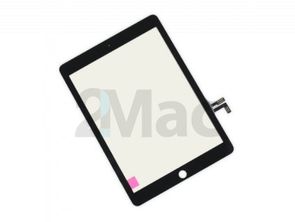 Přední dotykové sklo (touch screen) pro Apple iPad Air Black - High Copy