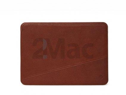 "Decoded Leather Sleeve, brown - Macbook 13"""