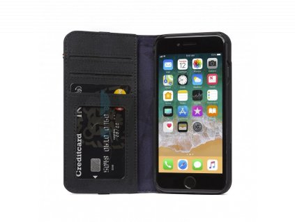 Decoded Leather Wallet, black - iPhone SE/8/7