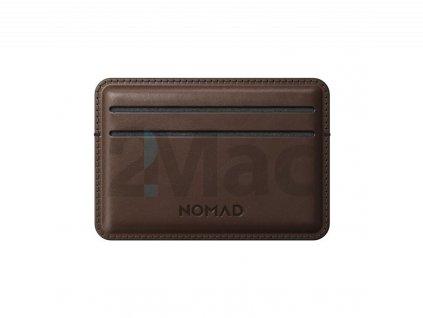 Nomad Card Wallet, brown