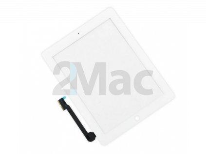Přední dotykové sklo (touch screen) pro Apple iPad 3/4 White - High Copy