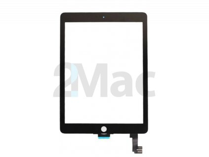 Přední dotykové sklo (touch screen) pro Apple iPad Air 2 Black - High Copy