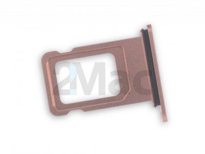 šuplík na SIM kartu iPhone XR - (Oranžová)