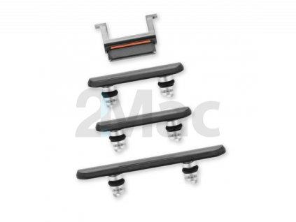 Boční kovová tlačítka pro Apple iPhone 11 Pro/11 Pro Max - Space Gray