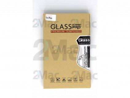 Ochranné tvrzené sklo 5D pro Apple iPhone X - Černé
