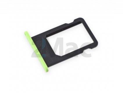 šuplík na SIM kartu iPhone 5C - Green