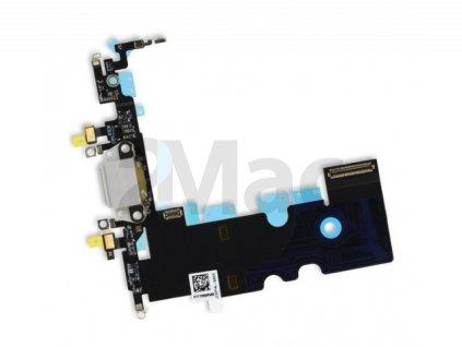 Napájecí datový konektor pro Apple iPhone 8 Gray