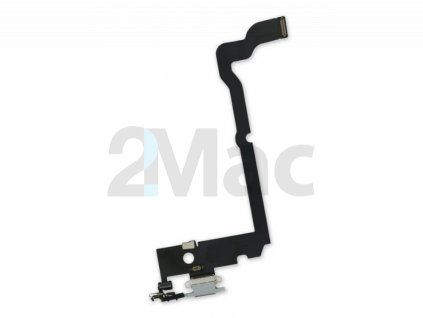 Napájecí datový konektor pro Apple iPhone XS Max Gray