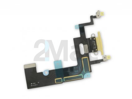 Napájecí datový konektor pro Apple iPhone XR - Žlutý