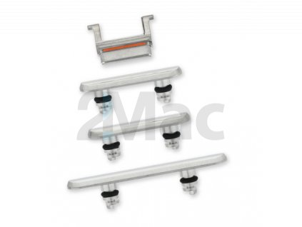 iPhone 11 Pro/11 Pro Max Side Buttons Set Silver