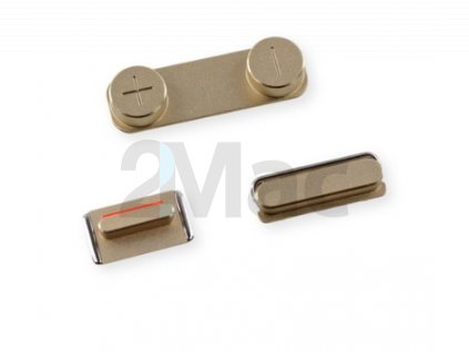 iPhone 5S/SE Side Buttons Set Gold
