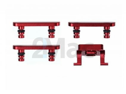 iPhone 7 Side Buttons Set Jet Red