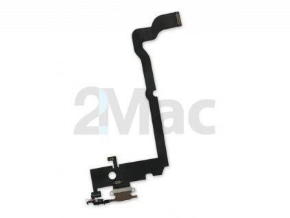 Napájecí datový konektor pro Apple iPhone XS Max - Hnědý