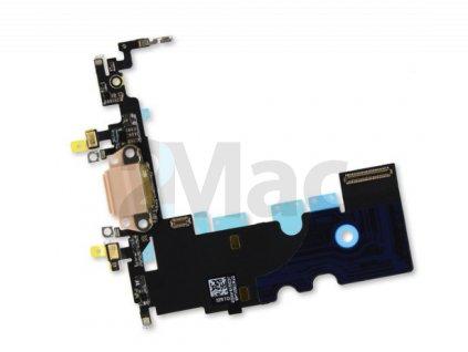 Napájecí datový konektor pro Apple iPhone 8/SE 2020 - Zlatý