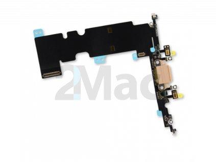 Napájecí datový konektor pro Apple iPhone 8 Plus - Zlatý