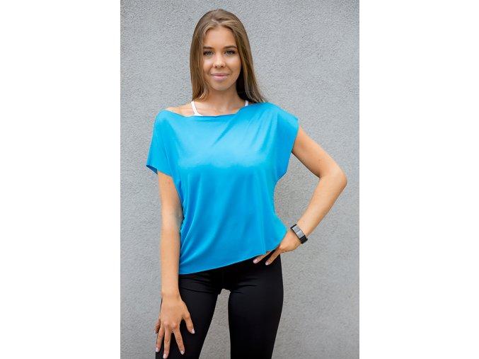 turkusowa bluzak sportowa 2skin m3635