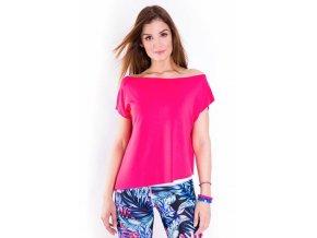 Tanečné tričko Sensual ružové