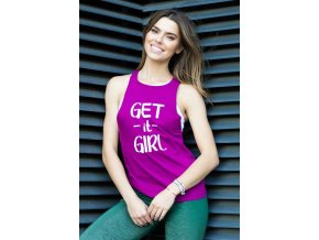 Get it girl fuchsia