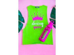 Dancing queen zelené