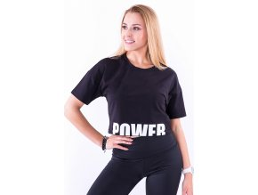 Tréningové tričko Power - čierne